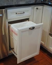 Clever Kitchen Storage Clever Kitchen Garbage Can Storage Wooden Kitchen Garbage