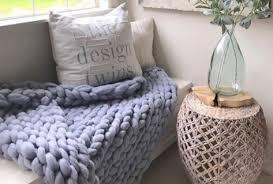 Arm Knitting Patterns Interesting DIY Arm Knitting Pattern Lap Throw 48x48 In BeCozi