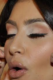 makeup inspiration for brown eyes kim kardashian