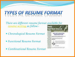 Different Resume Format 7 Different Styles Of Resume Dragon Fire Defense
