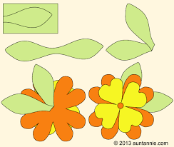 Pattern For Paper Flower How To Make Paper Flowers Friday Fun Aunt Annies Crafts