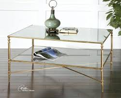 gold coffee tables glass and gold coffee table modern minimalist industrial style rustic wood furniture i gold coffee tables