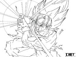 Dragon Ball Z Coloring Pages Super Vegeta Saiyan God Thanhhoacarcom