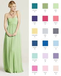Request free color swatches to see our shades in person! Check out our 10  gorgeous styles in 18 colors so your bridesmaids can mix and match.