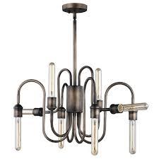 patriot lighting chapman 34 5 parisian bronze 8 light chandelier at menards