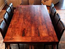 diy reclaimed wood dining room table how to build a dining room table 13