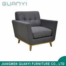 china restaurant relaxing single long back sofa chair china sofa modern