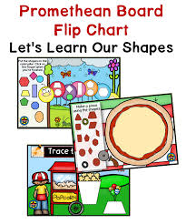 Interactive Whiteboard Flip Charts Shapes Promethean Board Flip Chart A Teacher In Paradise