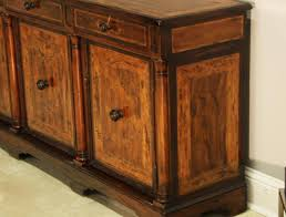 office sideboards. Rustic Walnut Sideboard, Side Cabinet Or Credenza With Marquestry Office Sideboards