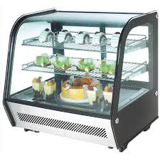 polar countertop refrigerated merchandiser 120ltr