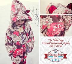 Childs Cape Pattern Amazing Free Pattern Child's Cape Or Car Seat Poncho By Angel