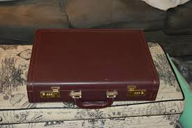 Custom pistol case from an old briefcase