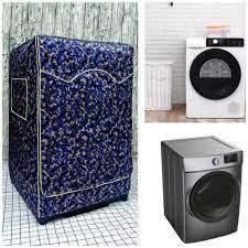 Áo trùm, vỏ bọc máy giặt cửa ngang bằng vải dù loại xịn siêu biền dành cho Máy  giặt LG Inverter 9 kg giá cạnh tranh