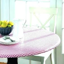 fitted vinyl table cloth round fitted vinyl tablecloth