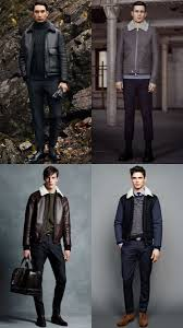 men s military shearling jackets outfit inspiration lookbook