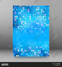 design squares mosaic cover page brochure background stock vector design squares mosaic cover page brochure background