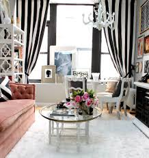 kansas city navy and white horizontal striped curtains with cotton area rugs living room eclectic round