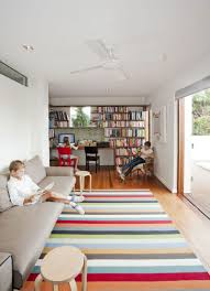Architecture: Colorful Rug Design Idea Applied In Sunshine Beach ...