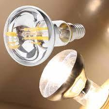 Vintage Retro R50 LED Spot Reflektör Filament Işık KOÇANı Ampul Işıkları  Lamba 30 W Eşdeğer Kırmızı Mavi Yeşil Sıcak Soğuk beyaz light lamp cool  whiter50 led - AliExpress