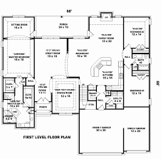 one story house plans under 2300 square feet unique 2300 sq ft house plans image of