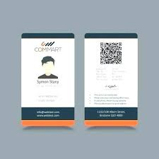 Company Id Card Template Business Id Card Template Free Ericremboldt Com