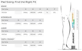 Bauer Goalie Pants Size Chart 13 Studious Bauer Runner Size Chart