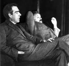 who was albert einstein universe today einstein and niels bohr 1925 credit public graf