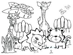 Free Colouring Pages Animals Farm Animal Coloring Pages Free