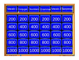 Jeopardy Game Template 5+ Best Jeopardy Templates | Free & Premium Templates