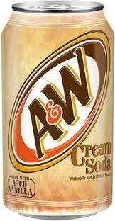 <b>Газированный напиток</b> «<b>A&W</b> Cream Soda» (Аллен & Райт Крем ...