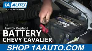2002 Chevy Cavalier Battery Light How To Replace Battery 95 05 Chevy Cavalier