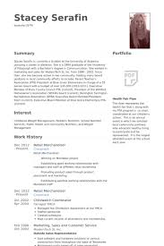 Retail Merchandiser Resume samples