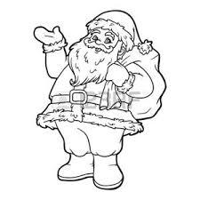 Vettoriale Libro Da Colorare Giochi Per Bambini Babbo Natale Dà