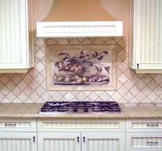 Tile Murals For Kitchen Kitchen Beautiful Kitchen Design Ideas With Wine Mural Tile