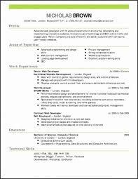 Nanny Resume Example Best Of Good Nanny Resume Best Resume Templates