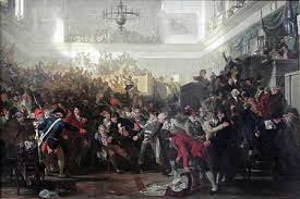 timeline of the french revolution 26 28 arrest and execution of robespierre end of the terror edit