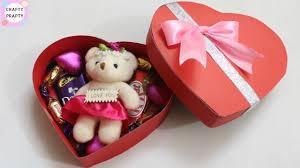 diy valentine s day gift idea diy heart shape box how to make chocolate box diy love box