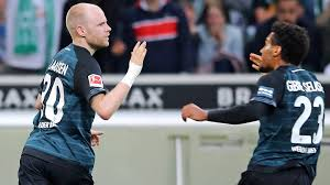 The guests want to get into the european cup, but the dreams of bremen. Bundesliga Davy Klaassen Salvages Point As Werder Bremen Frustrate Gladbach