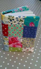 patchwork diary cover i made with cath kidston tilda and vine laura ashley funda agenda