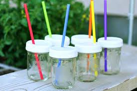 Decorating Mason Jars For Drinking 100 DIY Mason Jar Cups Guide Patterns 42
