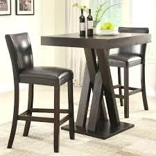 coaster bar units and tables three piece height table stools set chairs