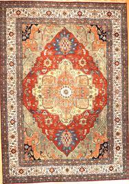 hand knotted large serapi design rug