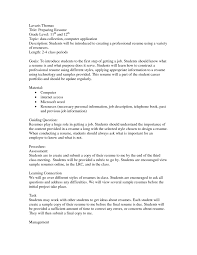 Resume First Job Toreto Cos Objective On For Generic Sample