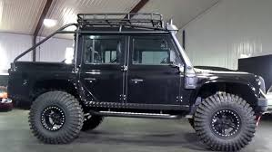 ... Take A Detailed Look At The Modified Land Rover Defender From James Bond  Spectre S