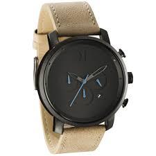mvmt watches chrono gun metal sandstone leather men 039 s watch item specifics