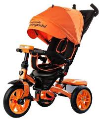 <b>Велосипед трехколесный Lamborghini</b> L5 <b>Panorama</b> Оранжевый ...