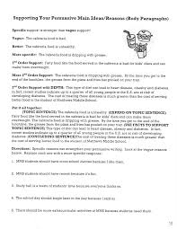 persuasive writing packet  16 supporting your persuasive