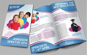 tri fold school brochure template kindergarten brochure template 10 free pdf psd ai vector format