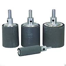drum sander for drill. 4 pc quick change sanding drum set drill press hand lathe bench grinder sander for