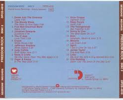 Cd Song List Freedom Rock Various Artists Songs Reviews Credits Allmusic